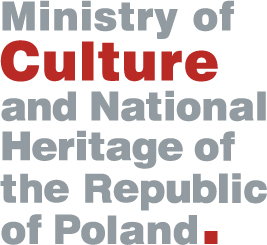 Logotype of The Ministry of Culture and National Heritage of the Republic of Poland